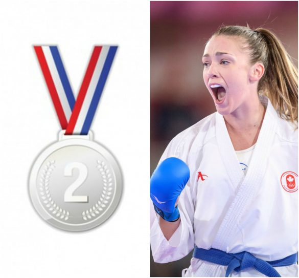 Kate Campbell won silver in karate | Karate News - Sports247live