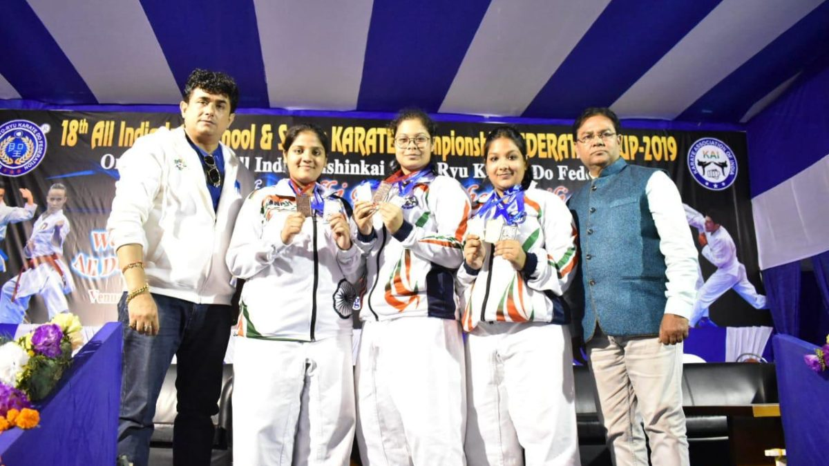 Federation Cup make mark in the Queen of Hill Darjeling | India Karate News | Sports247live