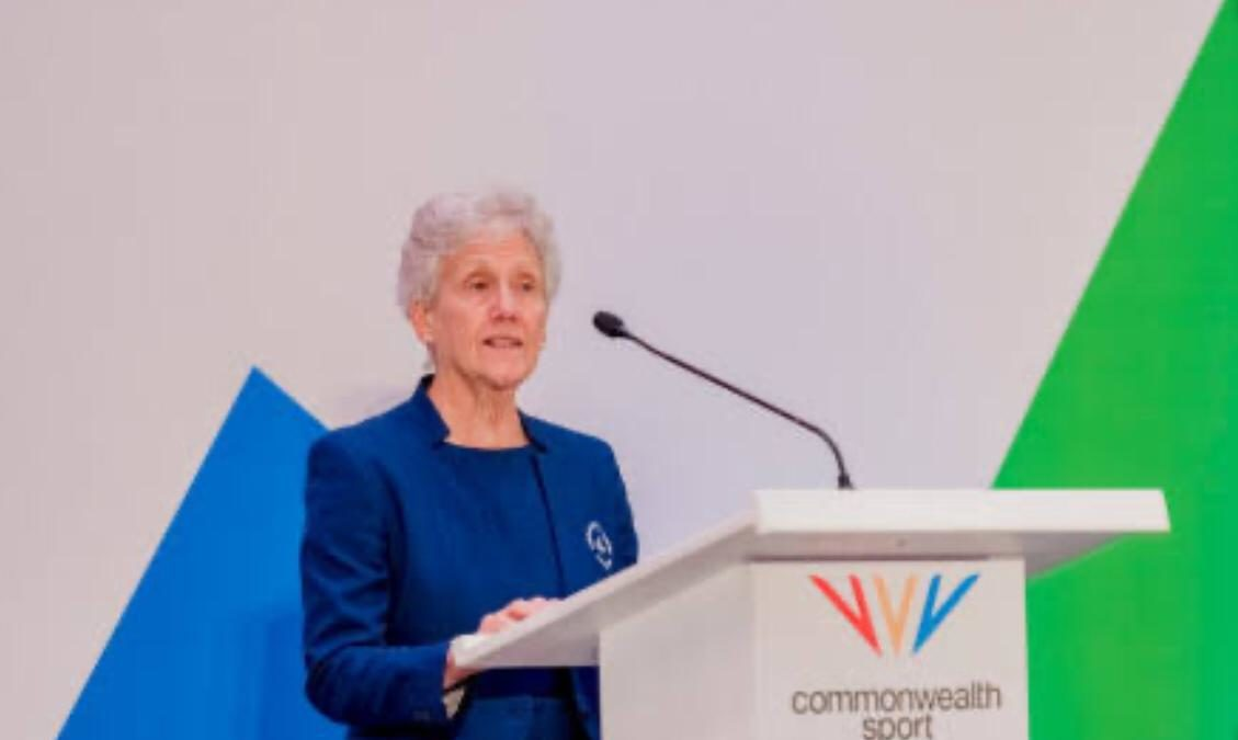 Ms.Dame Louise President Commonwealth Games Federation new message |Sports News |Sports247live