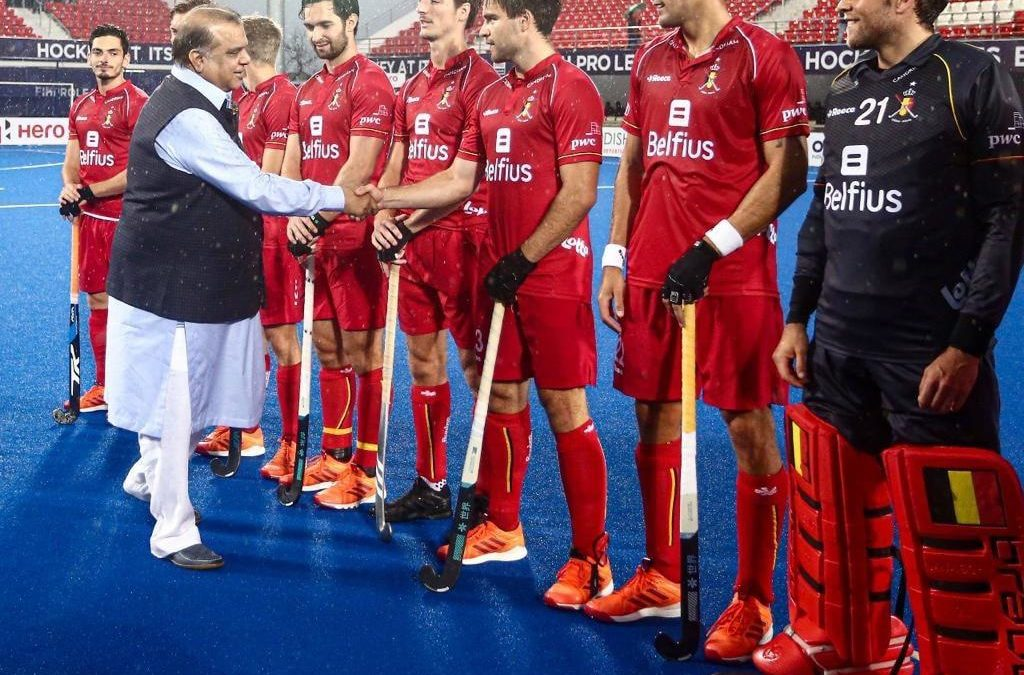President of Indian Olympic Association Dr.Narinder Dhruv Batra Attended the FIH Men's Hockey Pro League match|Sports247live