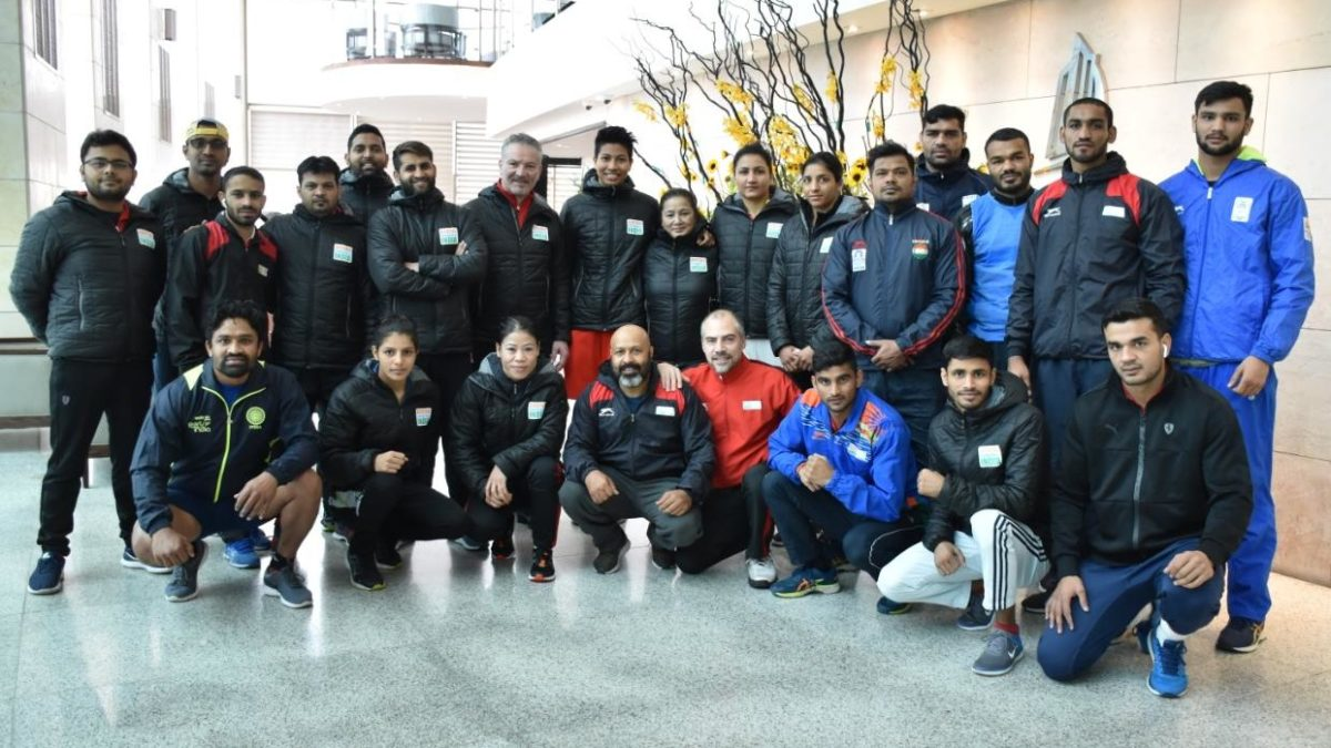 Indian Men & Women Boxing Teams in Jordan for Olympic Qualifiers