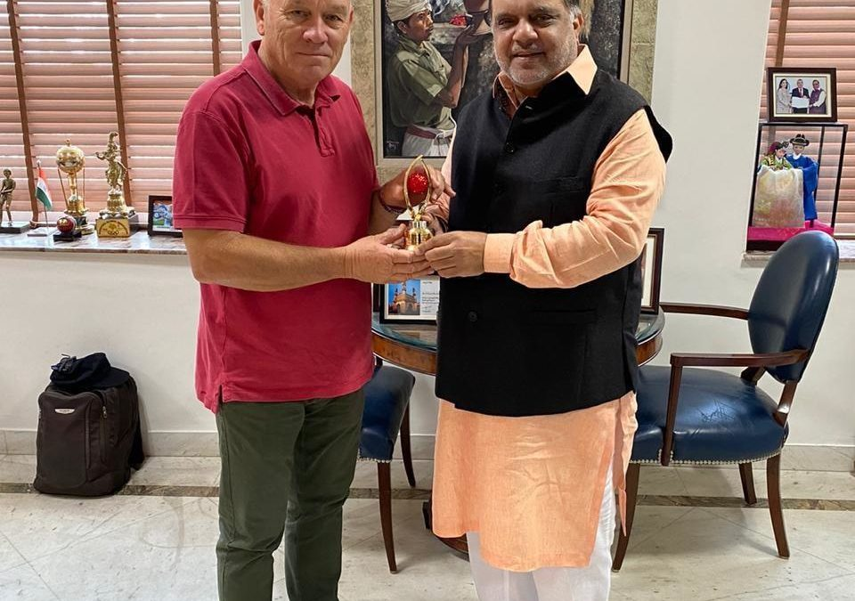 IOA President Mr.Batra Meet with Mr. RIC CHARLESWORTH in his office in Delhi on 5th March 2020 |Sports247live