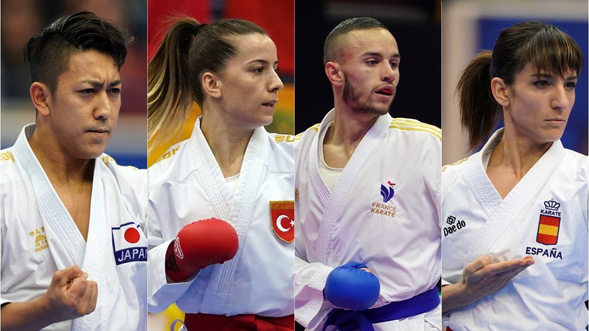 The World Karate Federation has announced the first Karate athletes who have earned the qualification for the Olympic Games Tokyo 2020