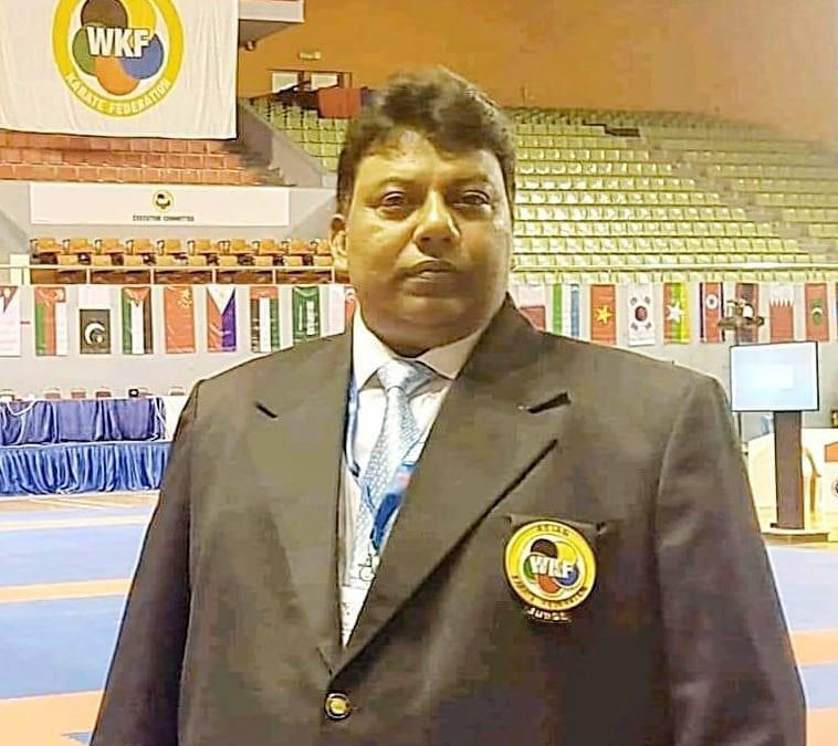A great loss to the SAKF, BKF and karate fraternity