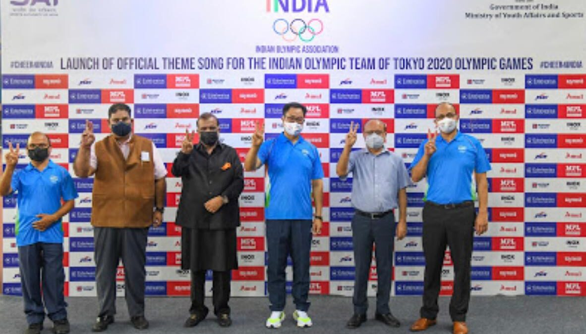 Official Theme Song for Indian Team Launched for Tokyo Olympics