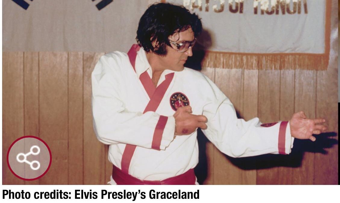 """Elvis Presley Would Be """"Thrilled"""" Karate is in Olympic Games"""