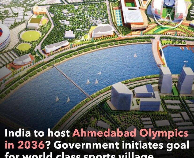 WITNESSING THE OLYMPICS IN INDIA LOOKS LIKE A MERE POSSIBILITY